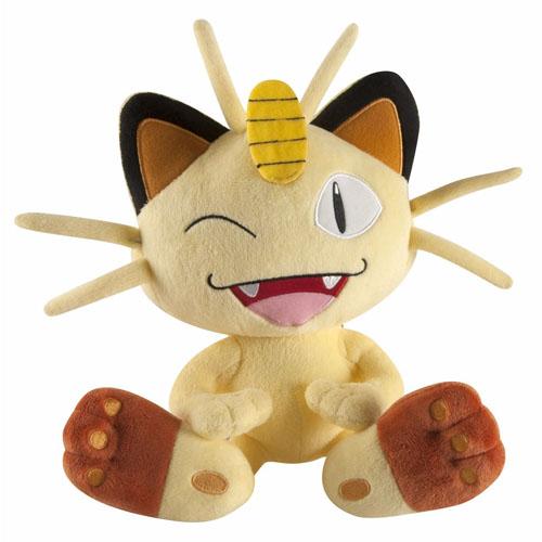 Imagem - Meowth - Pelúcia Gato Pokemon TOMY cód: CD82