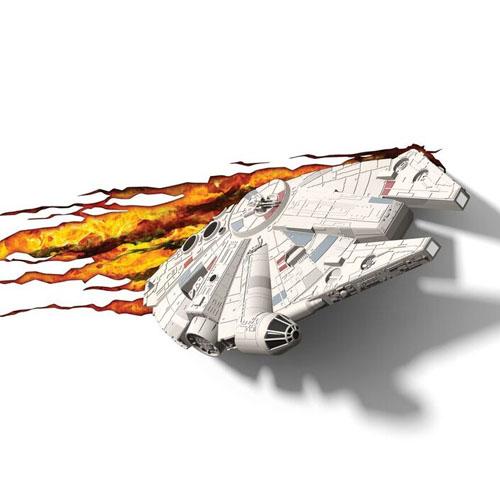 Imagem - Millennium Falcon - Luminária 3D Light FX Star Wars cód: GD19