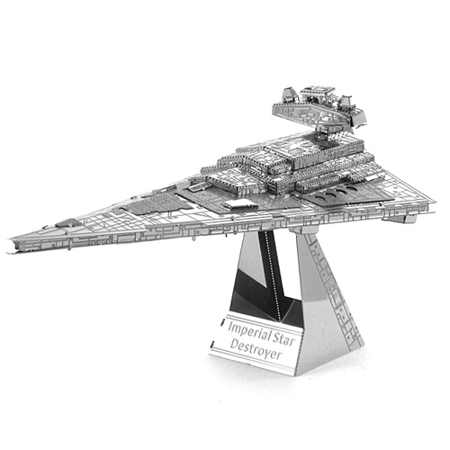 Imagem - Imperial Star Destroyer - Miniatura para Montar Metal Earth - Star Wars cód: CF64