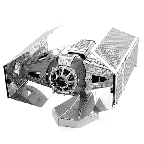Imagem - TIE Fighter do Darth Vader - Miniatura para Montar Metal Earth - Star Wars cód: CF63