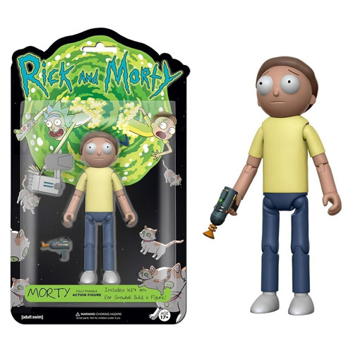 Imagem - Morty - Action Figure Rick and Morty cód: CB177