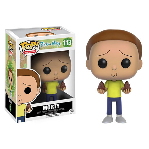 Imagem - Morty - Funko Pop Rick and Morty cód: CC245