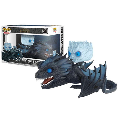 Imagem - Night King & Icy Viserion - Funko Pop Game of Thrones Rides cód: CC268