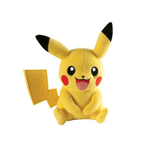 Imagem - Pikachu - Pelúcia Pokemon Original TOMY cód: CD80