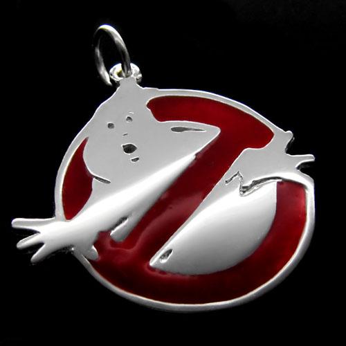 Imagem - Pingente - Ghostbusters - Folheado a Prata cód: AA115