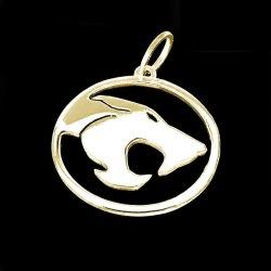 Imagem - Pingente Thundercats - Folheado Ouro cód: SP36