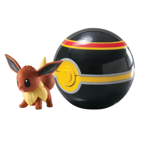 Imagem - Pokebola / Luxury Ball com Eevee - Pokemon cód: CF134