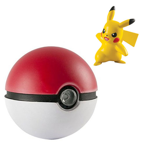 Imagem - Pokebola / Pokéball com luzes e sons & Pikachu - Pokemon cód: CF116