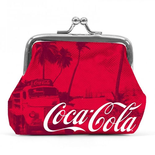 Imagem - Porta-Moedas Coca-Cola - Vermelho cód: AC24