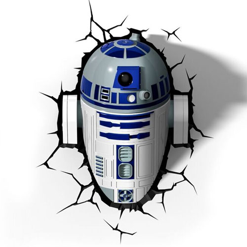 Imagem - R2-D2 - Luminária 3D Light FX Star Wars cód: GD21