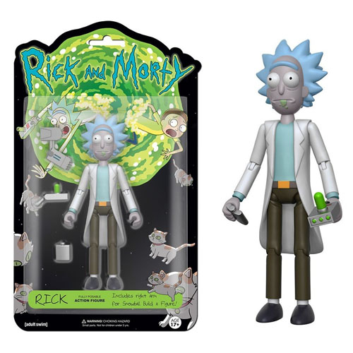 Imagem - Rick - Action Figure Rick and Morty cód: CB176