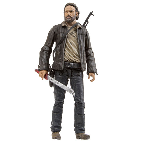 Imagem - Rick Grimes Series 8 - Action Figure The Walking Dead - McFarlane Toys cód: CB130