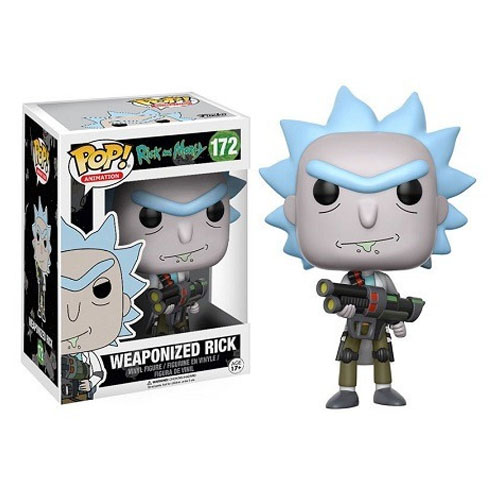 Imagem - Rick Weaponized / Armado - Funko Pop Rick and Morty cód: CC261