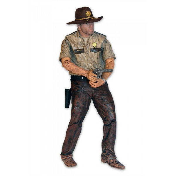 Imagem - Rick Grimes (Sheriff) - Action Figure The Walking Dead Series 7 - McFarlane Toys cód: CB66