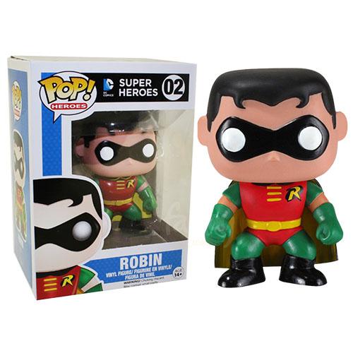 Imagem - Robin - Funko Pop DC Comics Super Heroes cód: CC180