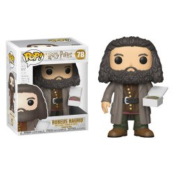 Imagem - Rubeus Hagrid com Bolo - Big Funko Pop Harry Potter cód: CC310