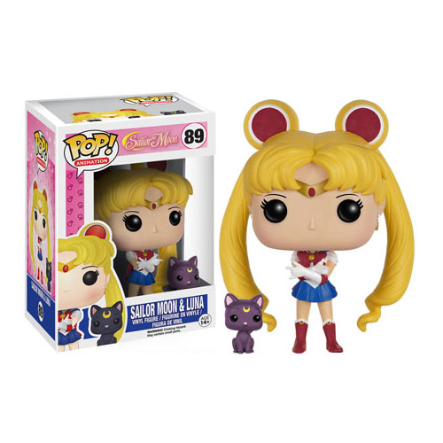 Imagem - Sailor Moon e Luna - Funko Pop Sailor Moon cód: CC213
