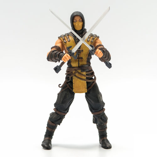Imagem - Scorpion - Action Figure Mortal Kombat X - Mezco cód: CB161