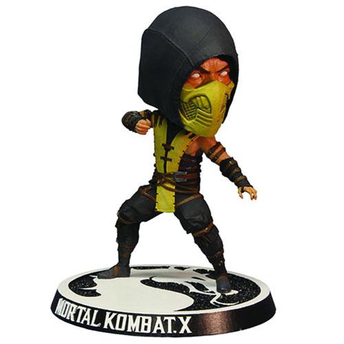 Imagem - Scorpion - Bobble Head Mortal Kombat X - Mezco cód: CE48
