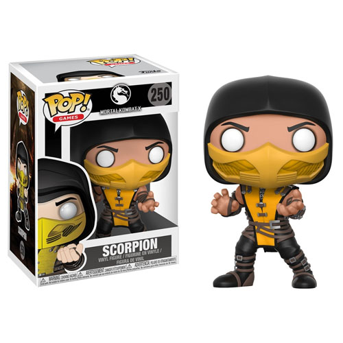 Imagem - Scorpion - Funko Pop Games Mortal Kombat cód: CC257