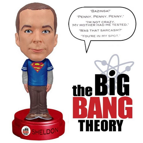 Imagem - Sheldon Falante - The Big Bang Theory Bobblehead - Funko cód: CE40
