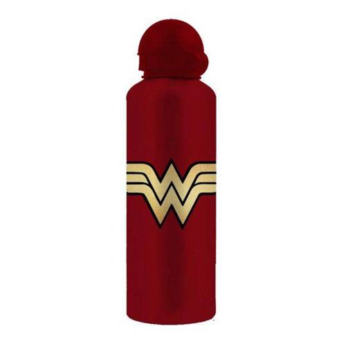 Imagem - Squeeze de Alumínio Wonder Woman Logo - Mulher-Maravilha DC Comics cód: GC72