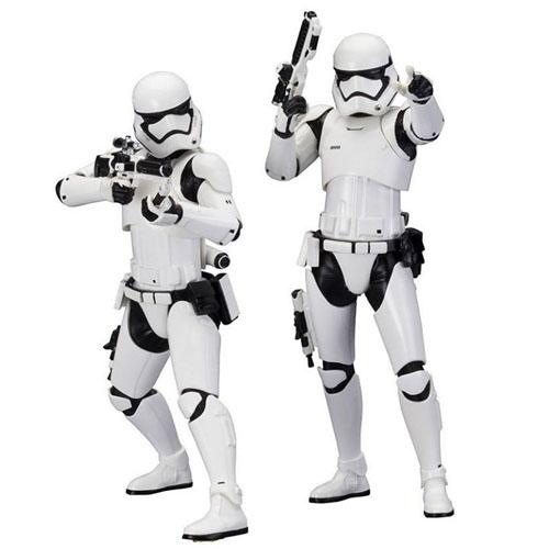 Imagem - Stormtrooper First Order 2-Pack Star Wars - Estátuas ArtFX+ Kotobukiya The Force Awakens cód: CF145