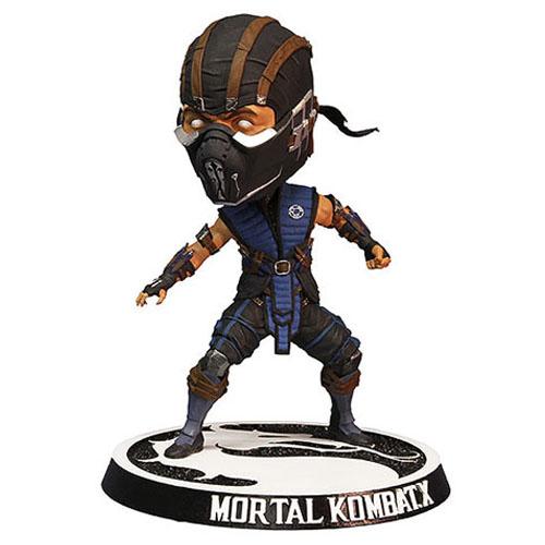 Imagem - Sub-Zero - Bobble Head Mortal Kombat X - Mezco cód: CE49