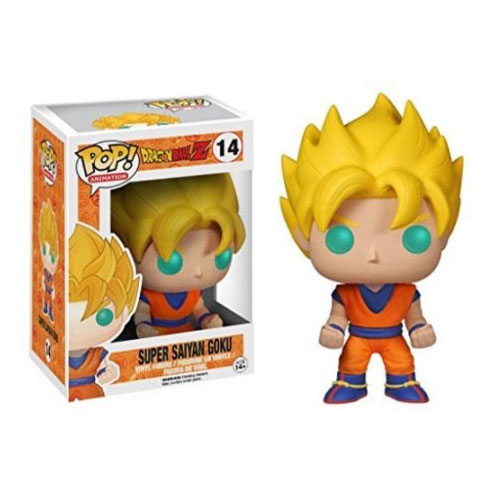 Imagem - Goku Super Saiyan - Funko Pop Dragon Ball Z cód: CC251