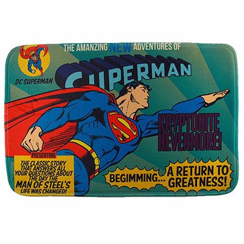 Imagem - Tapete de Banheiro - Superman Voando - DC Comics cód: GB18