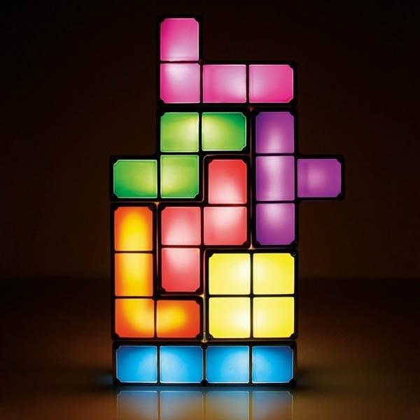 Imagem - Luminária de Led estilo Tetris - Magic Block cód: GD27