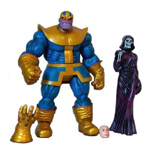 Imagem - Thanos - Action Figure Marvel Select Avengers cód: CB175