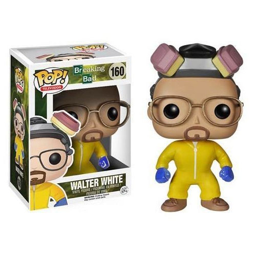 Imagem - Walter White Hazmat Suit - Funko Pop Breaking Bad cód: CC172