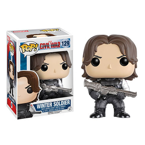 Imagem - Winter Soldier / Soldado Invernal - Funko Pop Captain America Civil War Marvel cód: CC109