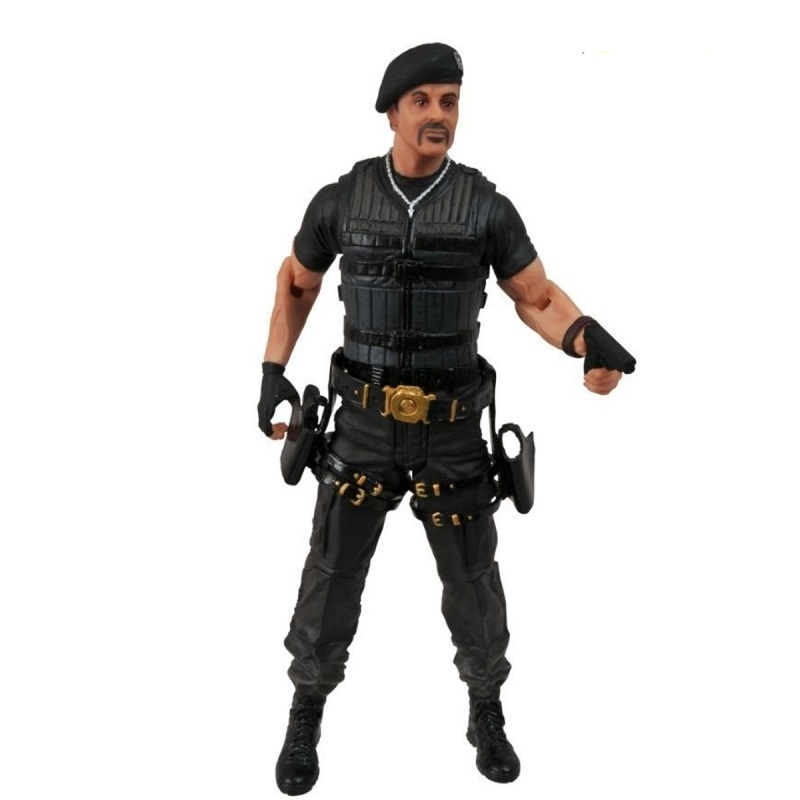 Barney Ross (c/ boina) / Sylvester Stallone - Action Figure The Expendables 2  / Os Mercenários 2