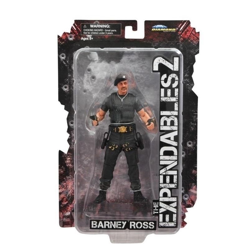 Barney Ross (c/ boina) / Sylvester Stallone - Action Figure The Expendables 2  / Os Mercenários 2 3