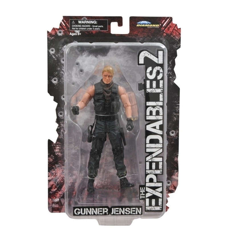 Gunner Jensen - Action Figure Expendables / Mercenários 2 2