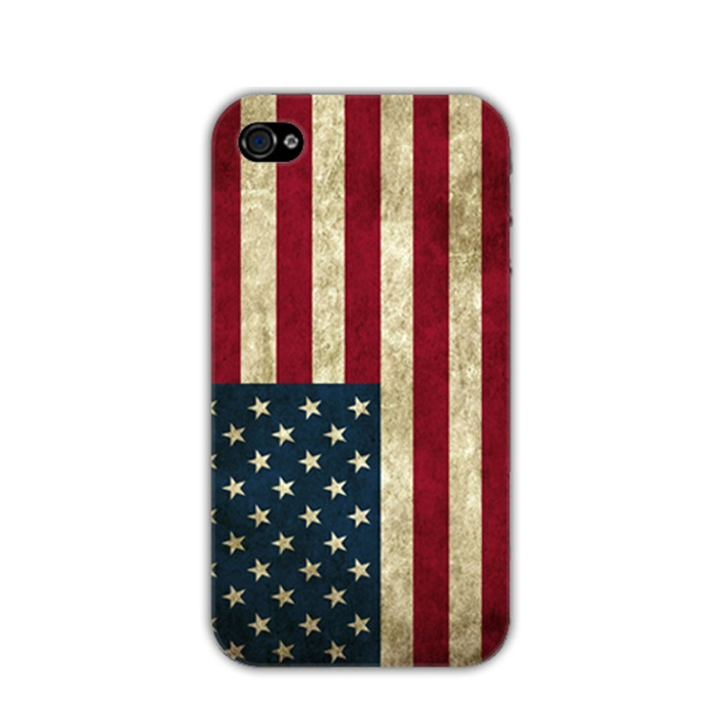 Capa iPhone 4/4S - Bandeira EUA - USA Flag