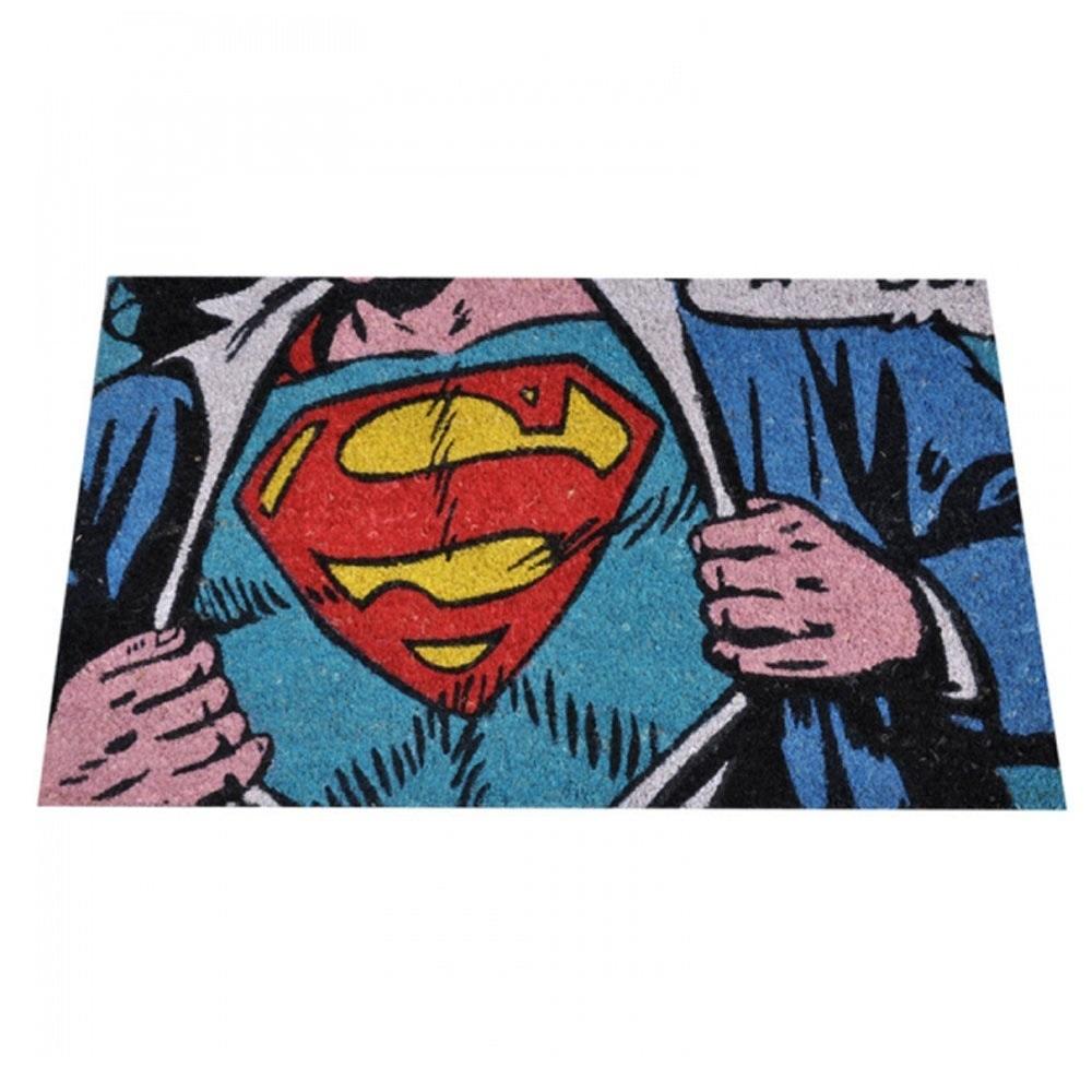 Capacho Super Homem - Colorido Fibra de Côco