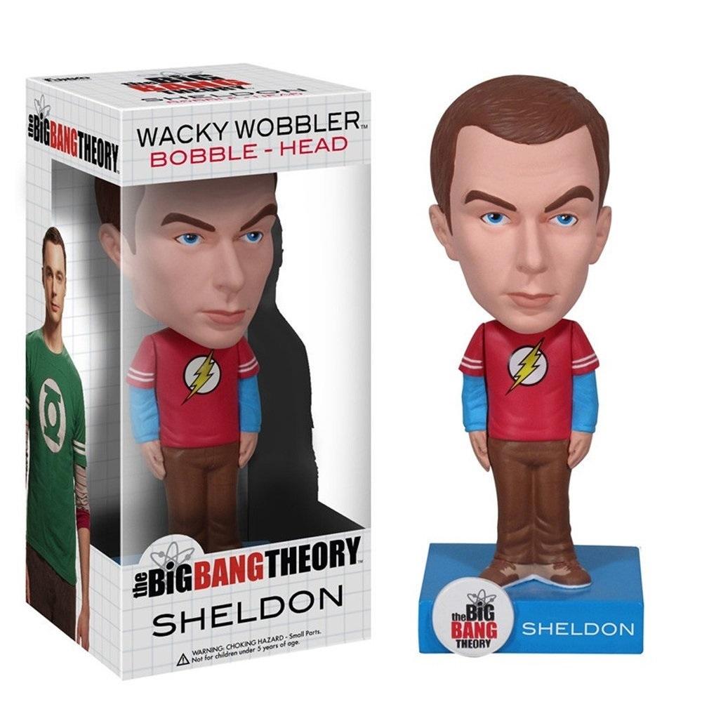 Sheldon - The Big Bang Theory Bobblehead - Funko Wacky Wobbler