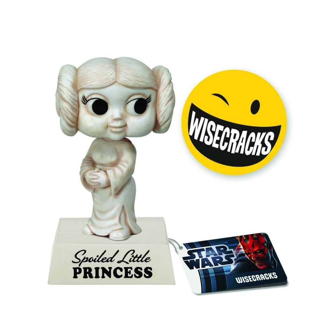 Princesa Leia / Princess Leia - Bobble Head Star Wars - Funko Wisecracks 3