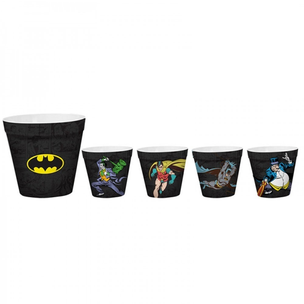 Kit de Baldes de Pipoca Batman - DC Comics 2
