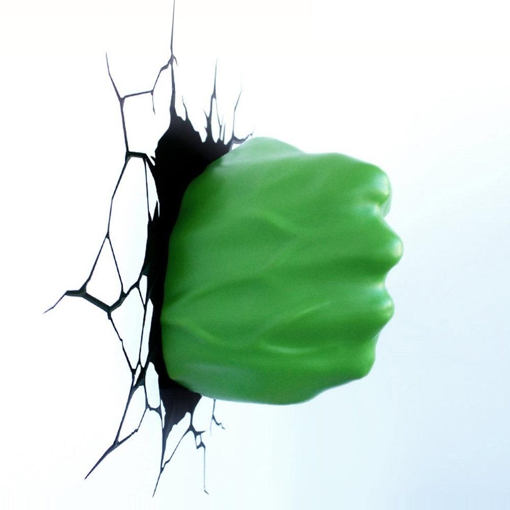 Punho do Hulk - Luminária 3D Light FX Avengers 3