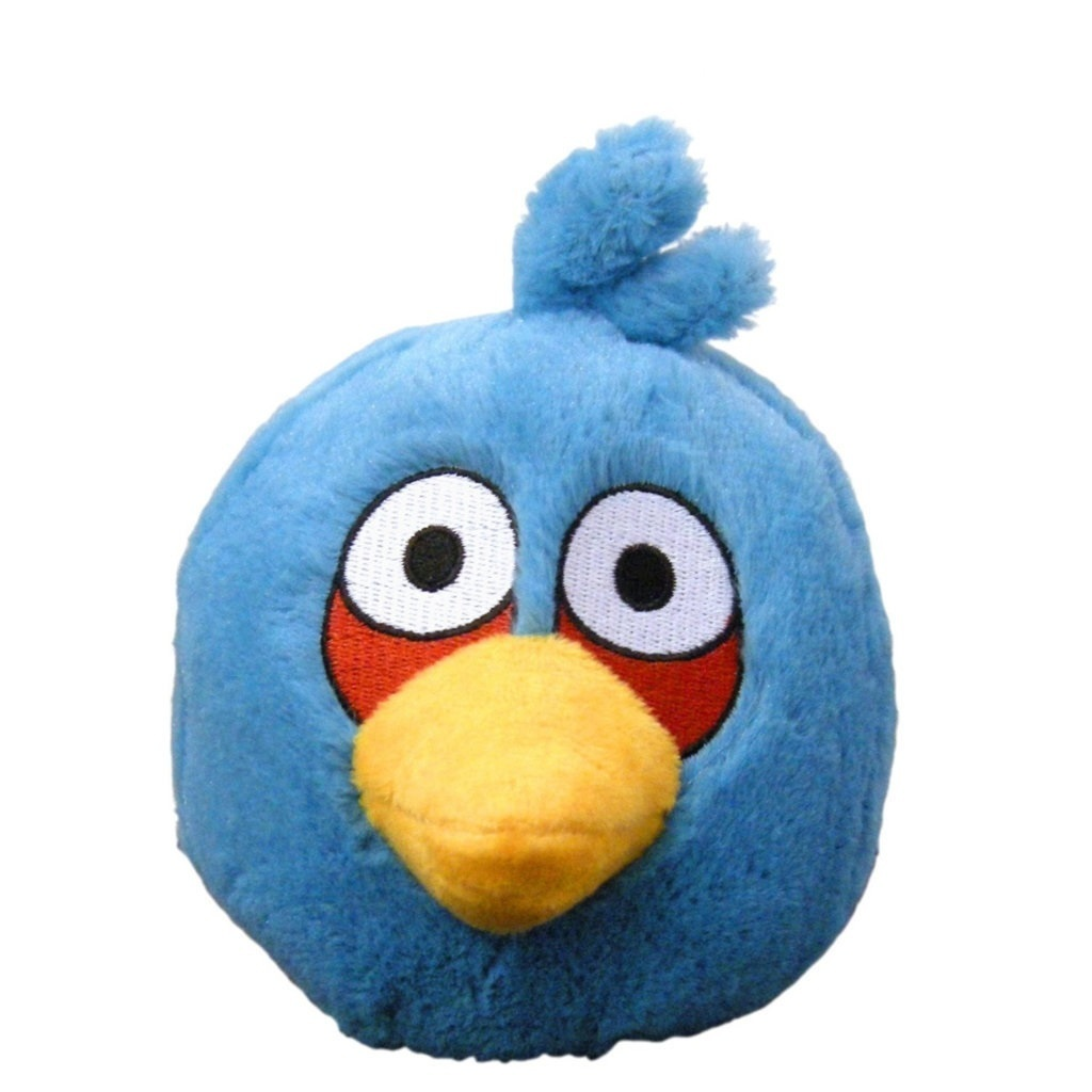 Pelúcia Angry Birds - Bird Azul