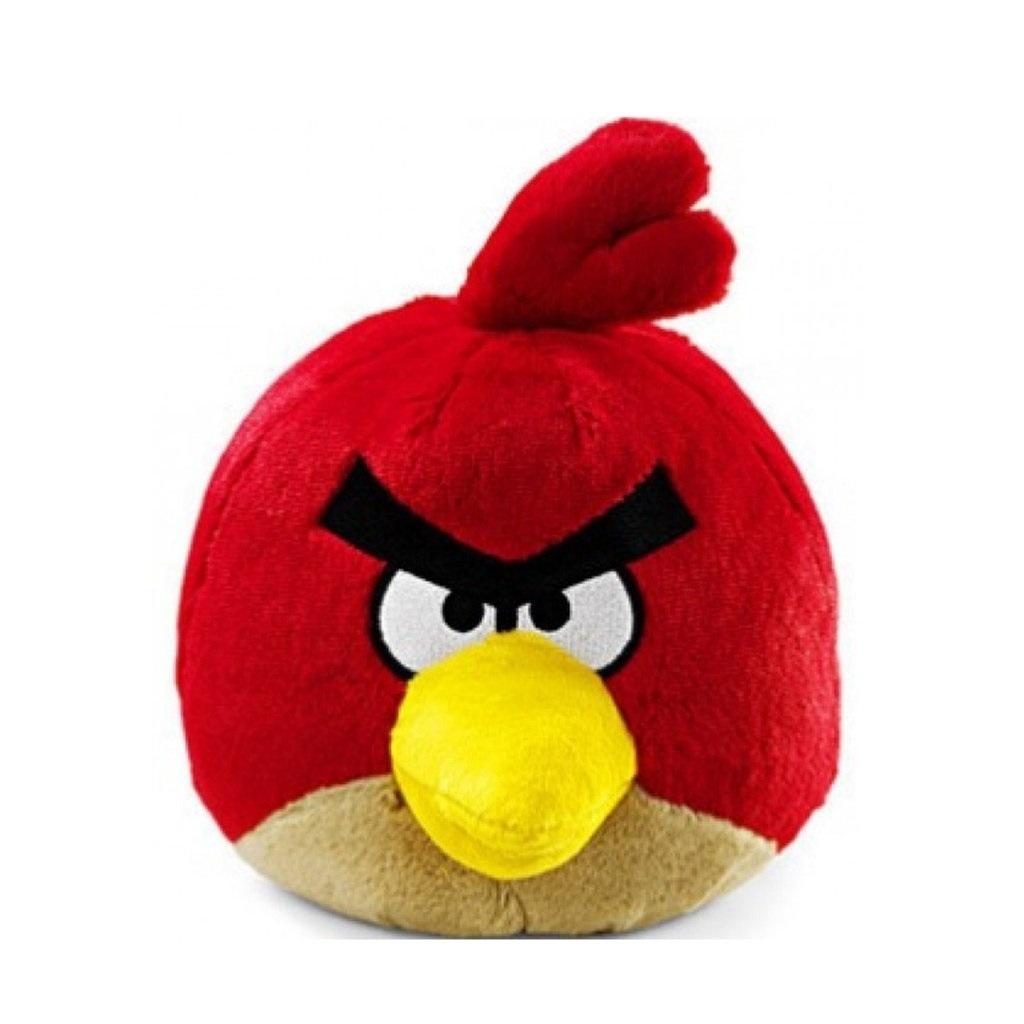 Pelúcia Angry Birds - Bird Vermelho