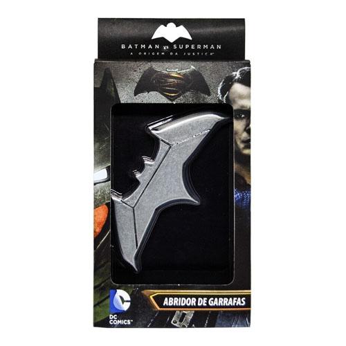 Abridor de Garrafas Batman vs Superman - Batarang Magnético 5