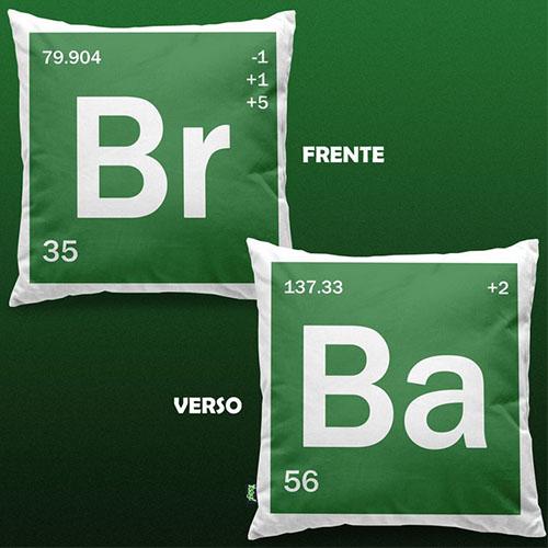 Almofada Breaking Bad - Elementos Br Ba 4