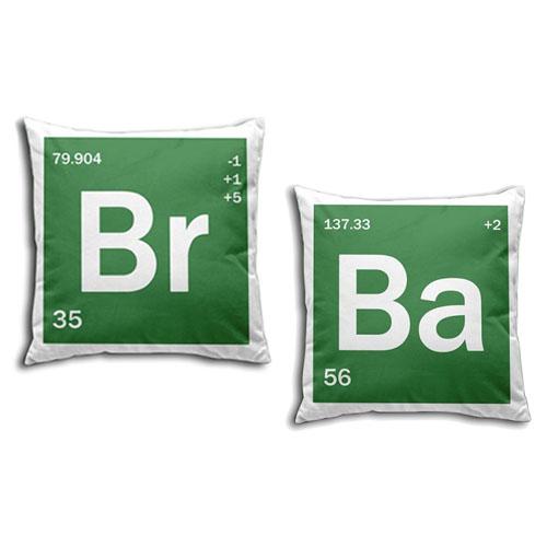 Almofada Breaking Bad - Elementos Br Ba