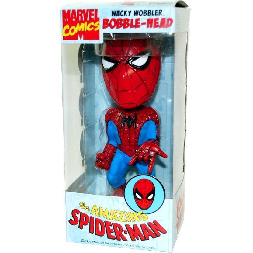 Homem-Aranha / Spiderman Bobblehead - Funko Wacky Wobbler Marvel 3