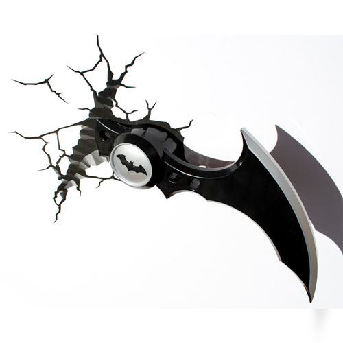 Batarang Batman Arkham Knight - Luminária 3D Light FX DC Comics 5